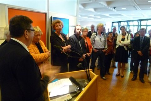 Opening expo Aurich groot succes