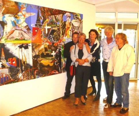 Kunstproject Aurich-Appingedam afgesloten