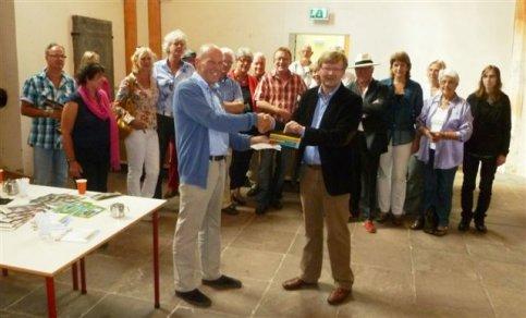 Presentatie nieuwe atelierbrochure Appingedam